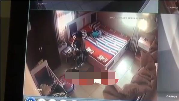 HOUSEHELP CAUGHTON CCTV ASSAULTING A 10 MONTH OLD BABY