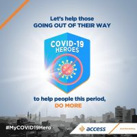 Great News: Access Bank launches #MyCovid19Hero initiative