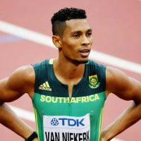 Van Niekerk wants to make more history after two-year nightmare
