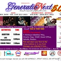 [NEWS] IBADAN ARE YOU READY!!!  GENERATIONEXT COMPETITION 5.0