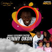 Celebrating and Icon and a Father – Pastor Sunny Okoh